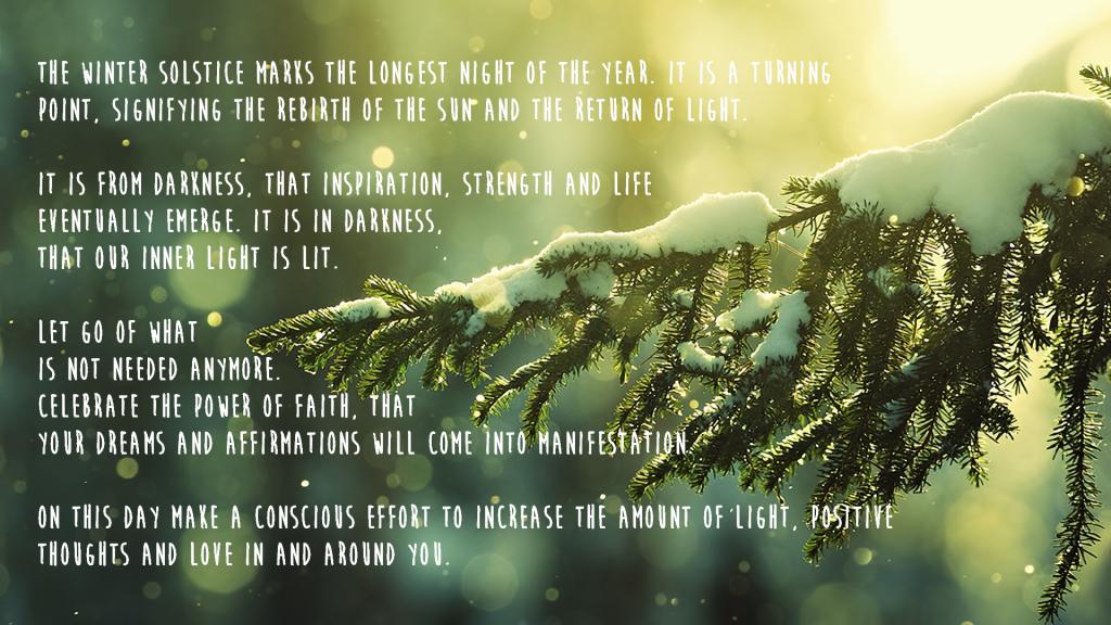 Mindful Solstice